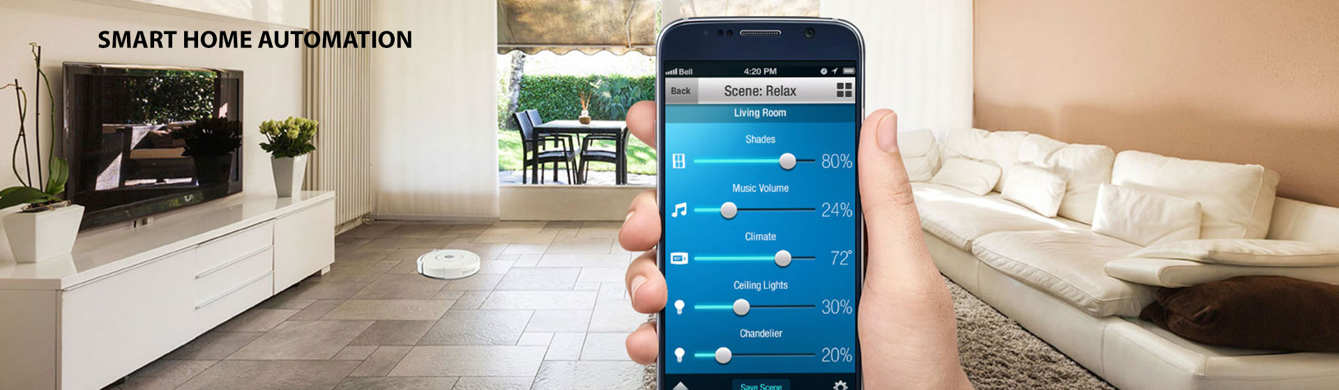 low cost home automation solution
